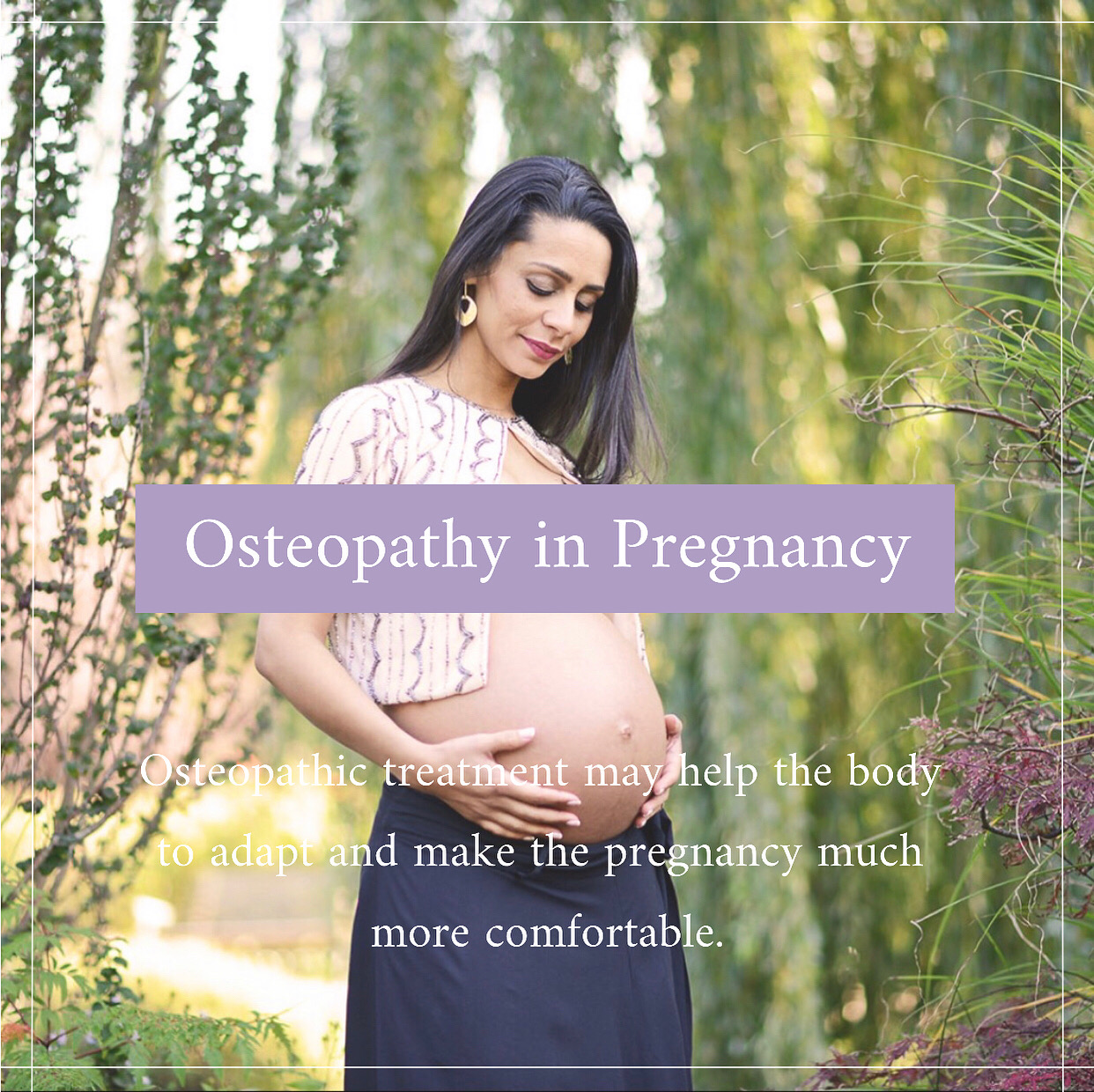 Osteopathy in Pregnancy