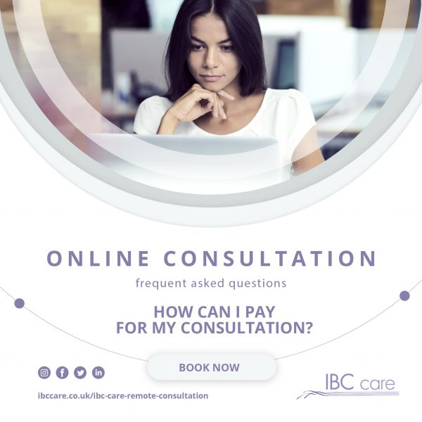 FAQ: How can I pay for my Online Consultation?