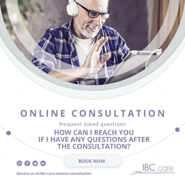 FAQ: How do I reach you if I have any questions after the Online Consultation?