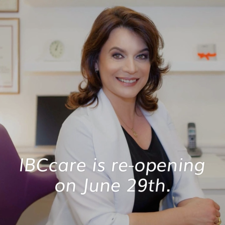 IBCcare is re-opening on June 29th.