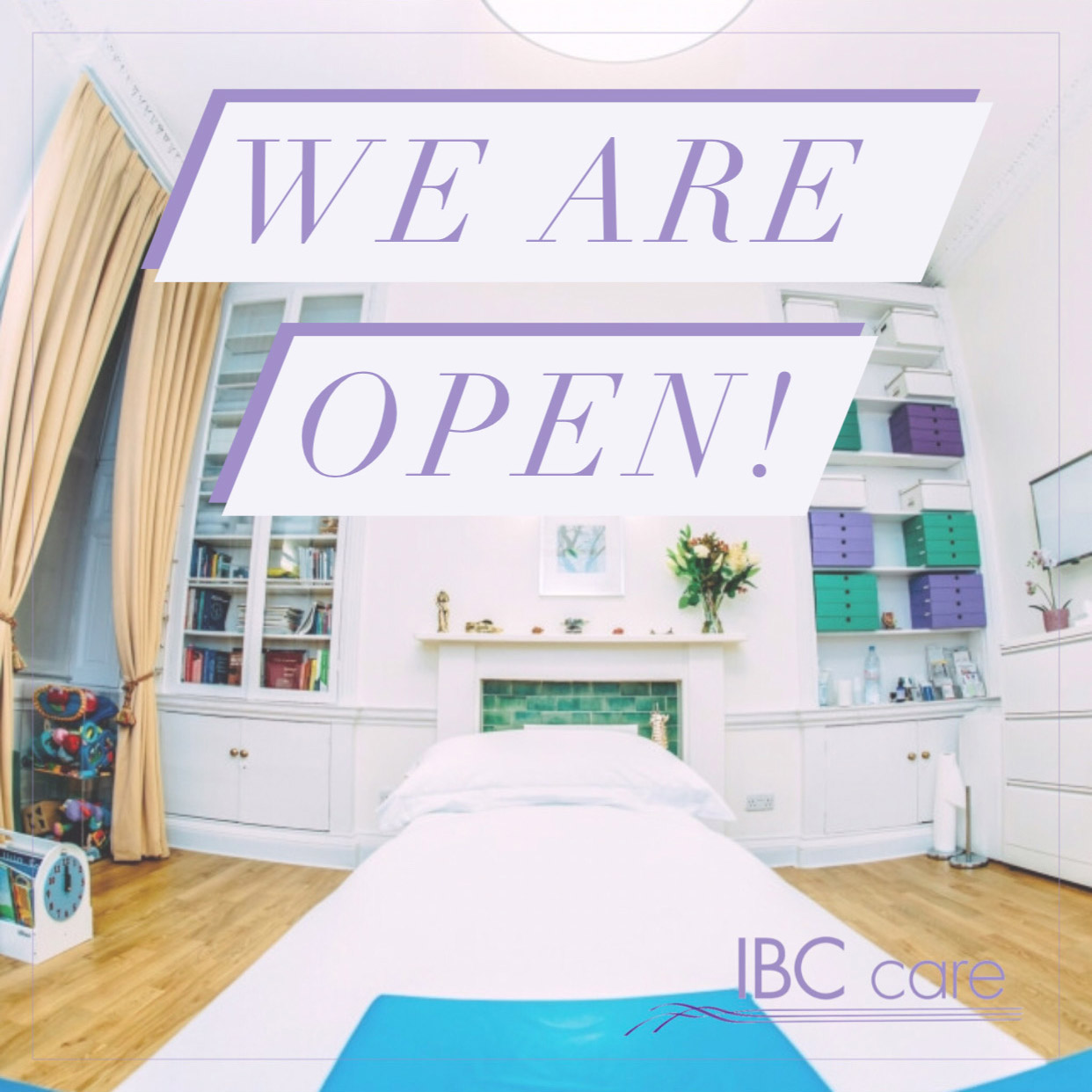 IBCcare is open.