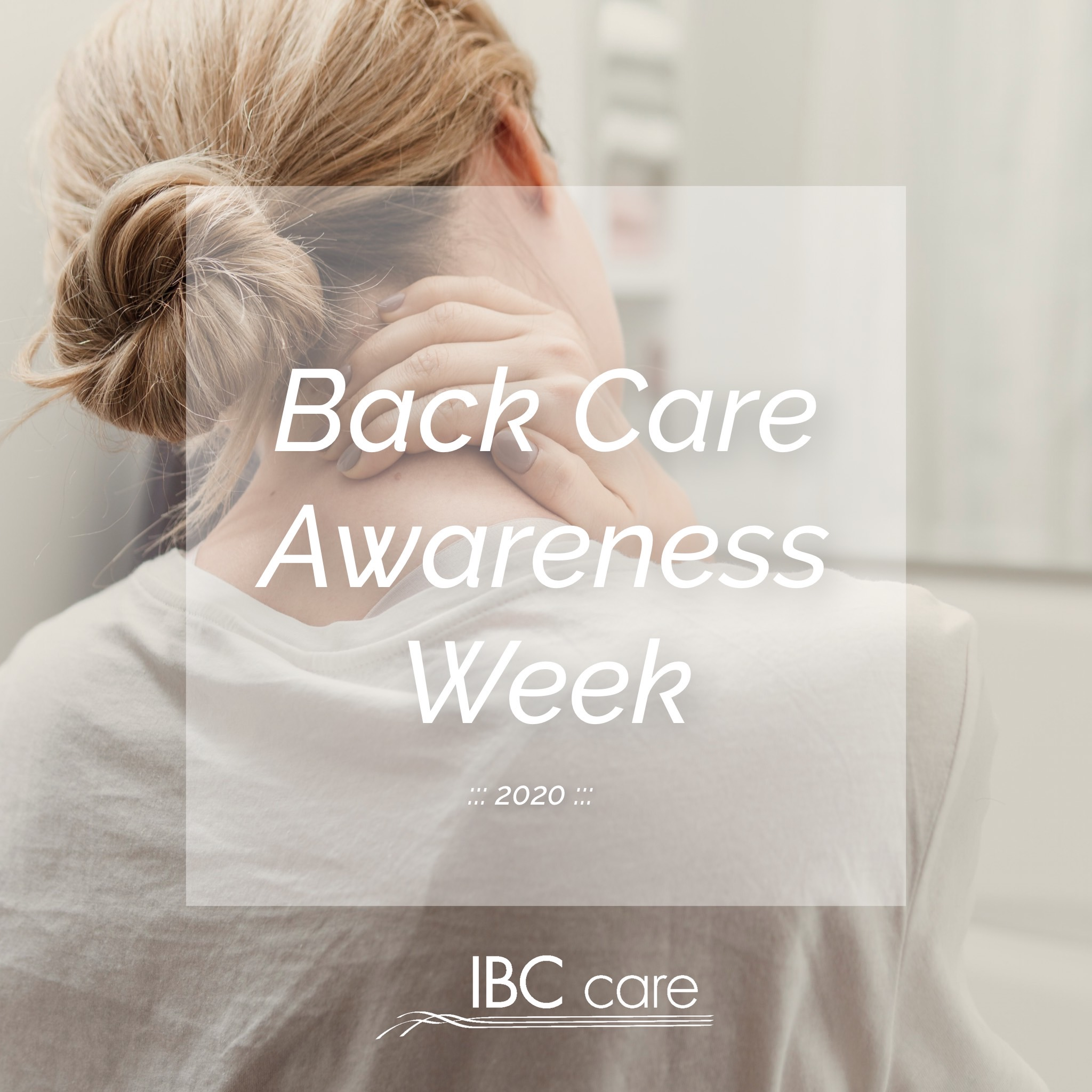 Back Care Awareness Week 2020