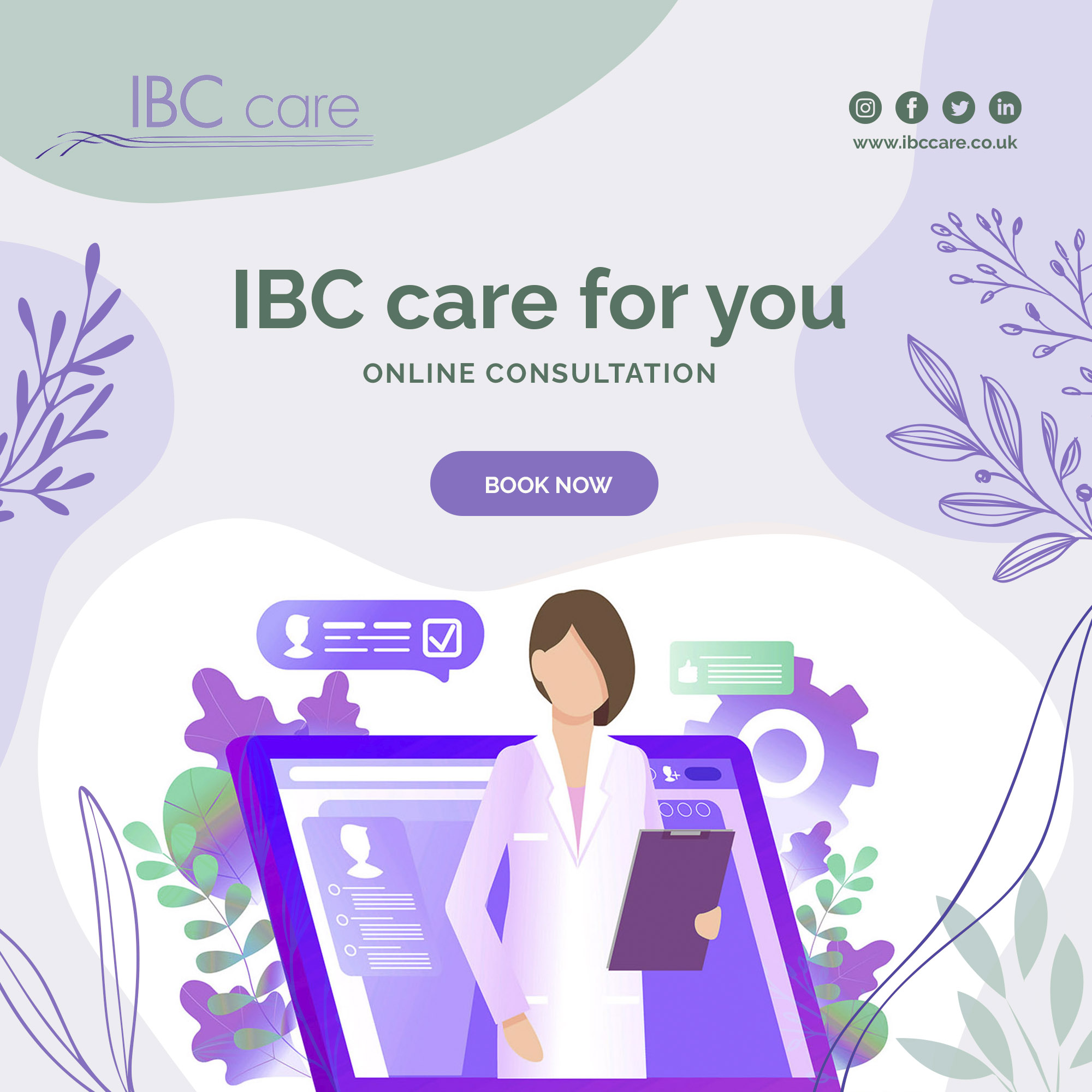IBC care for you – Online Consultations
