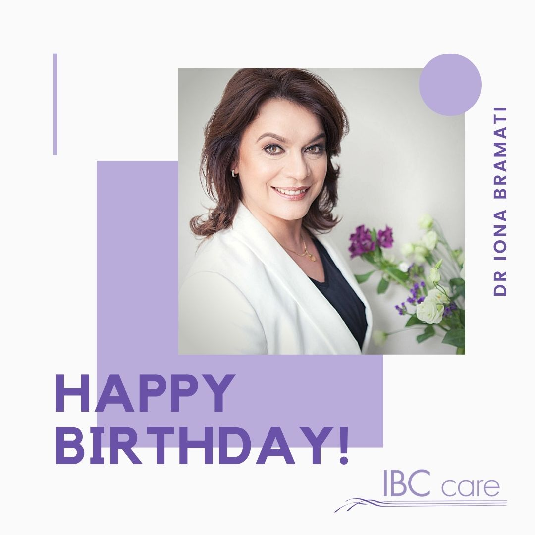 Happy Birthday, Dr Iona Bramati