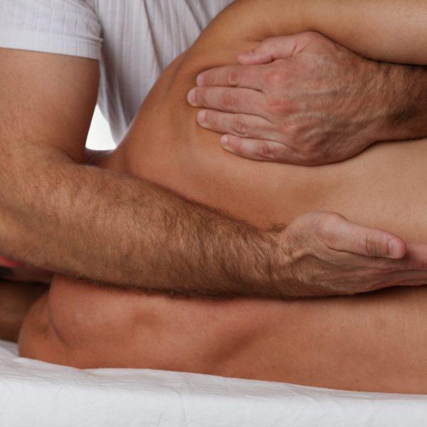 Man,Having,Chiropractic,Back,Adjustment.,Osteopathy,,Physiotherapy,,Sport,Injury,Rehabilitation