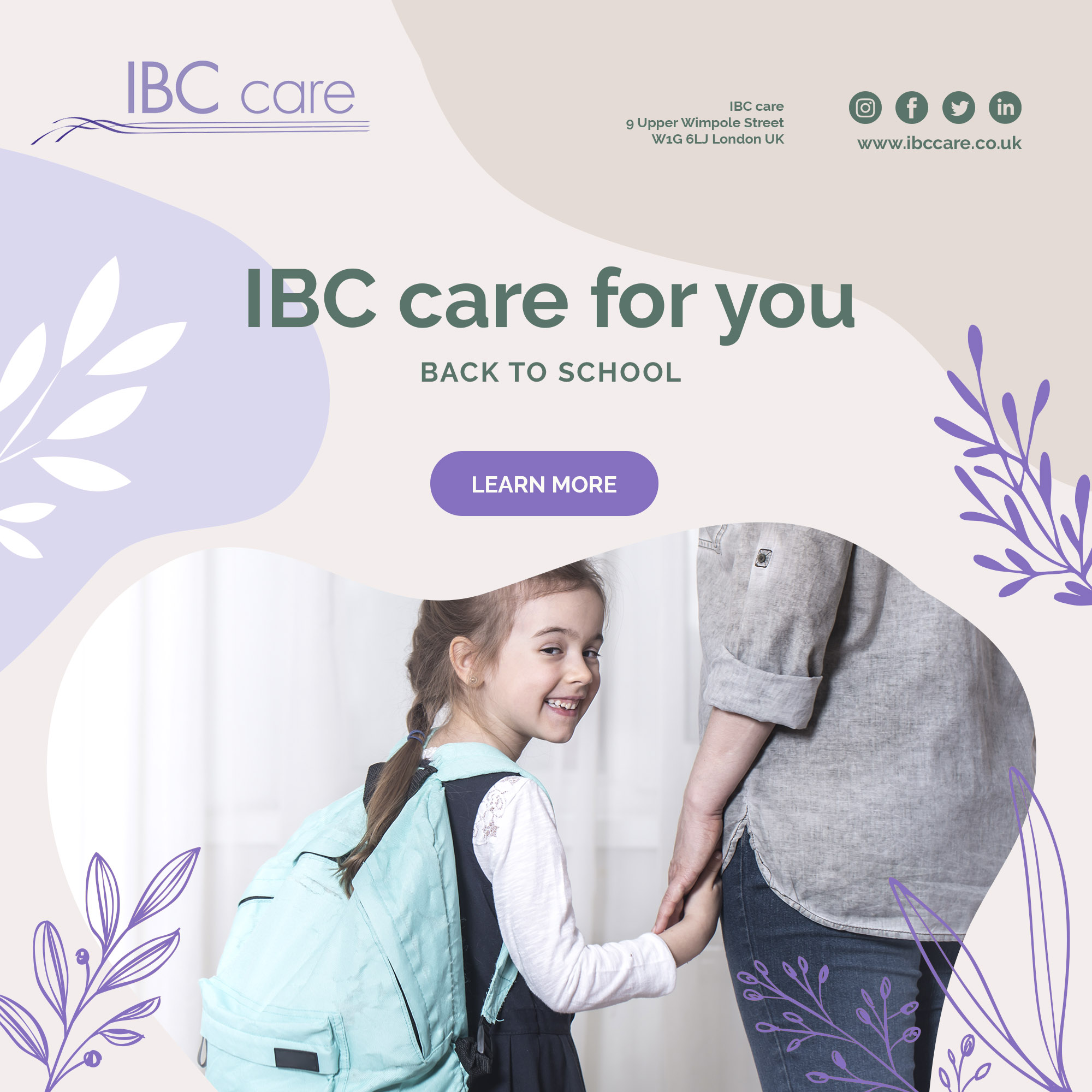 IBC care for you – Back to school